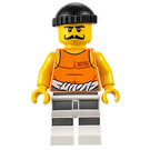 LEGO Jail Prisoner 92116 Minifigure