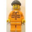 LEGO Jail prisoner with 50380 on Torso Minifigure