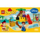 LEGO Jake and the Never Land Pirates Treasure Island Set 10604 Instructions
