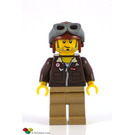 LEGO Jake Raines with Brown Jacket and Aviator Helmet Minifigure