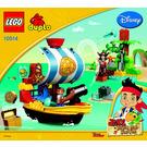 LEGO Jake's Pirate Ship Bucky Set 10514 Instructions