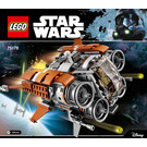 LEGO Jakku Quadjumper Set 75178 Instructions
