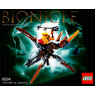 LEGO Jaller and Gukko Set 8594 Instructions