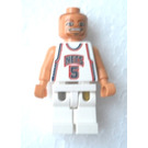 LEGO Jason Kidd, New Jersey Nets Minifigure #5 Home Uniform