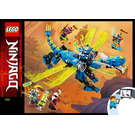LEGO Jay's Cyber Dragon Set 71711 Instructions