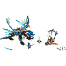 LEGO Jay's Elemental Dragon Set 70602