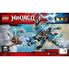 LEGO Jay's Elemental Dragon Set 70602 Instructions