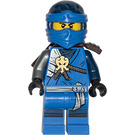LEGO Jay with Dark Brown Armor Minifigure