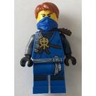 LEGO Jay with Dark Orange Hair Minifigure