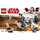 LEGO Jedi and Clone Troopers Battle Pack Set 75206 Instructions