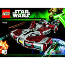 LEGO Jedi Defender-class Cruiser Set 75025 Instructions