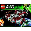 LEGO Jedi Defender-class Cruiser Set 75025 Instructions