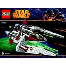 LEGO Jedi Hunter Frontier Set 75051 Instructions