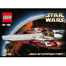 LEGO Jedi Starfighter Set 7143 Instructions