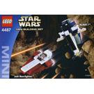 LEGO Jedi Starfighter & Slave I Set 4487