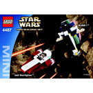 LEGO Jedi Starfighter & Slave I Set 4487 Instructions