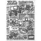 LEGO Jeep Set 3555 Instructions