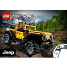 LEGO Jeep Wrangler Set 42122 Instructions