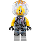LEGO Jellyfish Thug Man Minifigure with Neck Bracket