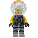 LEGO Jellyfish Thug Man Minifigure without Neck Bracket, with Beard