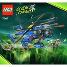 LEGO Jet-Copter Encounter Set 7067 Instructions
