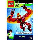 LEGO Jet Ray Set 8518 Instructions