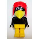 LEGO Joe Crow with White Eyes Fabuland Figure