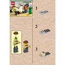 LEGO Johnny Thunder and Baby T Set 5903 Instructions
