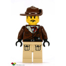 LEGO Johnny Thunder (expedition - brown jacket) Minifigure