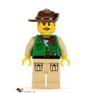 LEGO Johnny Thunder (expedition) Minifigure
