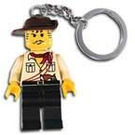 LEGO Johnny Thunder Key Chain (3961)