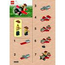 LEGO Johnny Thunder's Plane Set 5911 Instructions
