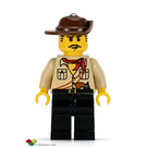 LEGO Johnny Thunder with Desert Outfit (the Lego movie) Minifigure