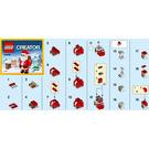 LEGO Jolly Santa Set 30478 Instructions