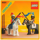 LEGO Jousting Knights Set 6021 Instructions