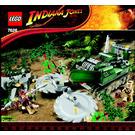 LEGO Jungle Cutter Set 7626 Instructions