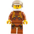 LEGO Jungle Exploration Woman Pilot Minifigure