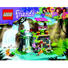 LEGO Jungle Falls Rescue Set 41033 Instructions