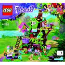LEGO Jungle Tree Sanctuary Set 41059 Instructions
