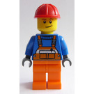 LEGO Juniors Demolition Site Worker Minifigure