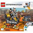 LEGO Junkrat & Roadhog Set 75977 Instructions