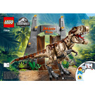 LEGO Jurassic Park: T. Rex Rampage Set 75936 Instructions