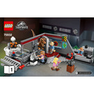 LEGO Jurassic Park Velociraptor Chase  Set 75932 Instructions