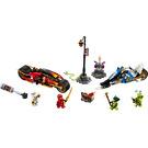LEGO Kai's Blade Cycle & Zane's Snowmobile Set 70667