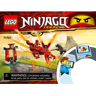 LEGO Kai's Fire Dragon Set 71701 Instructions