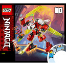 LEGO Kai's Mech Jet Set 71707 Instructions