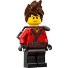LEGO Kai Spiked Hair and Katana Holder Minifigure