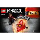 LEGO Kai - Spinjitzu Master Set 70633 Instructions