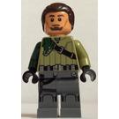 LEGO Kanan Jarrus Minifigure with Dark Brown Hair