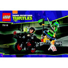 LEGO Karai Bike Escape Set 79118 Instructions